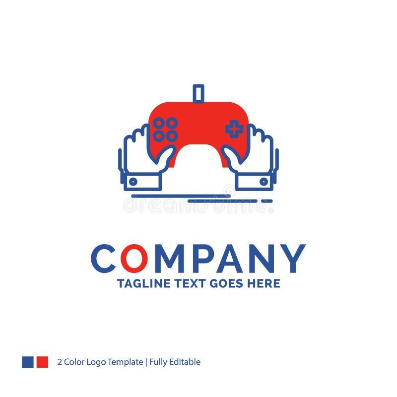 Juego de Logo Design For del nombre de compañía, juego, móvil, entretenimiento libre illustration