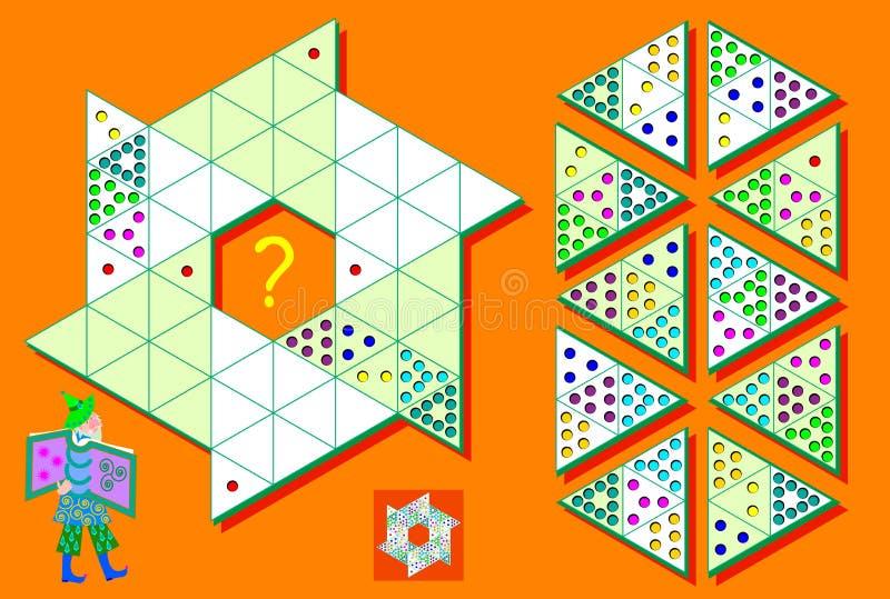 Juego De Sudoku De La Lógica En Triángulos Necesite Terminar El ...