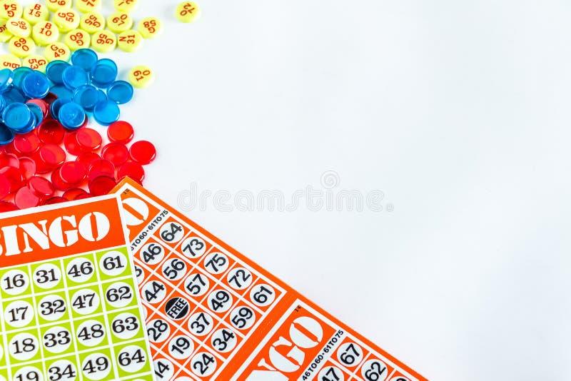 Juego del bingo imagen de archivo libre de regalías