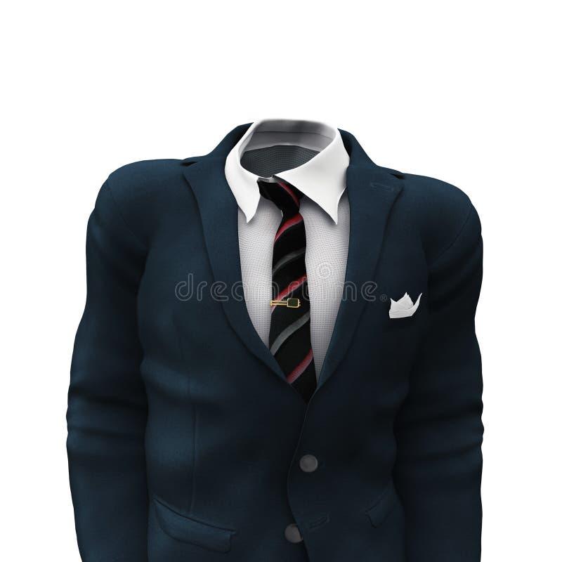 Juego del hombre de negocios stock de ilustración
