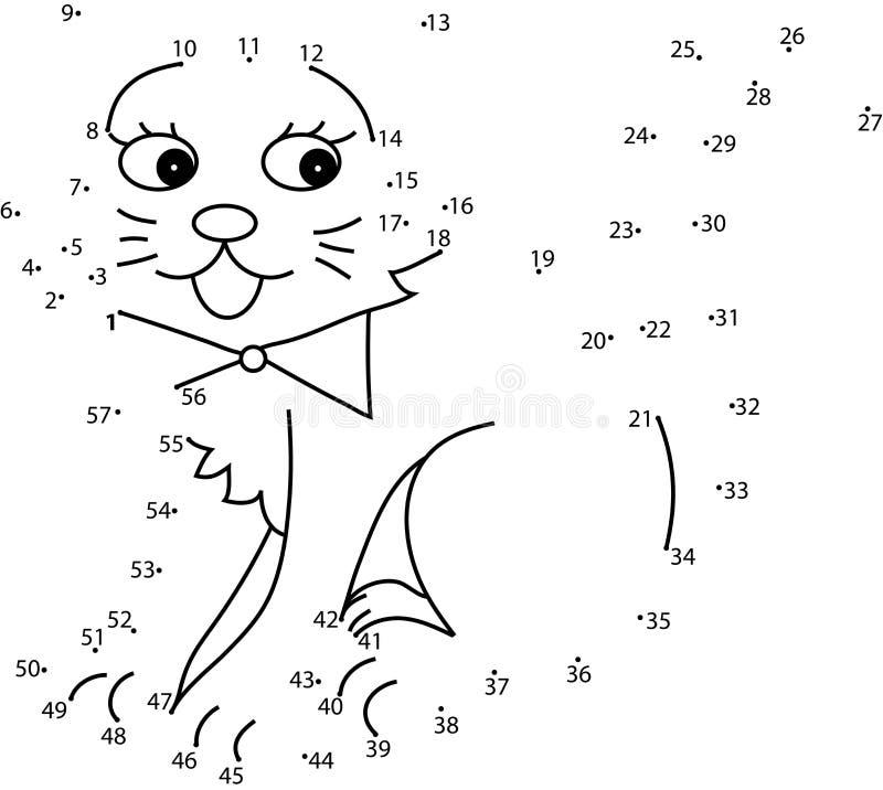 Juego del rompecabezas para los niños ilustración del vector