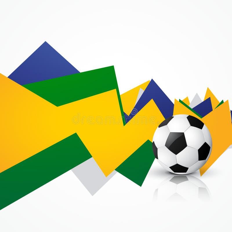 Download Juego Del Soocer Del Brasil Ilustración del Vector - Ilustración de campeonato, creativo: 41919460