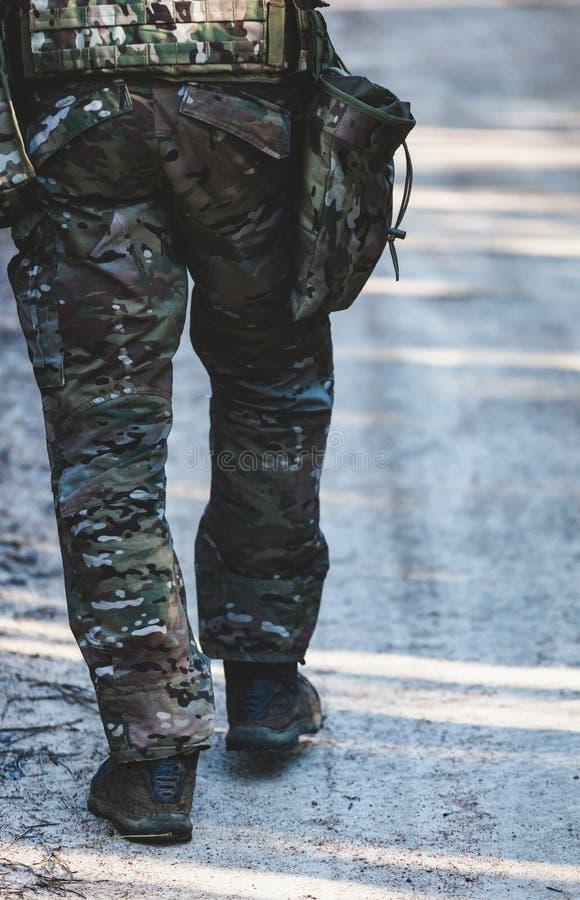 Juego militar de Airsoft imagen de archivo