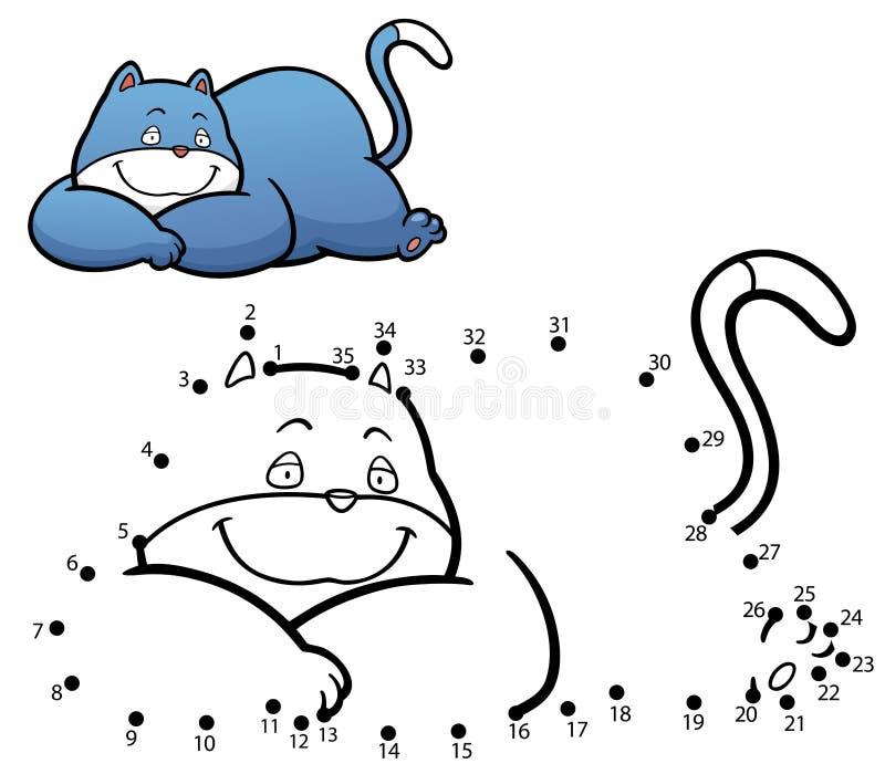 Juego para los cabritos ilustración del vector