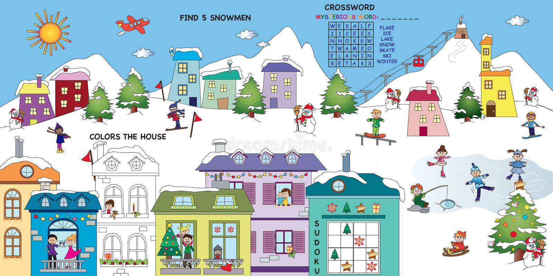 Juego para los niños libre illustration