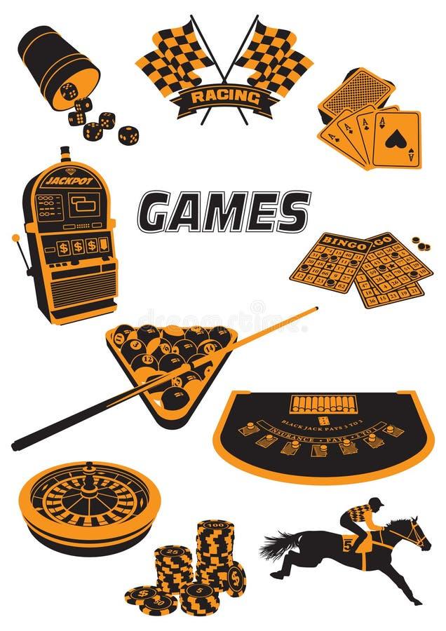 Juegos stock de ilustración
