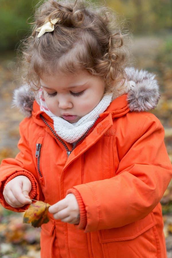 Juegos al aire libre del otoño foto de archivo