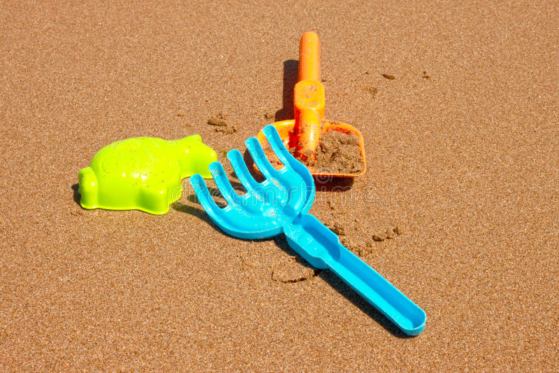 Juegos de la playa imagenes de archivo