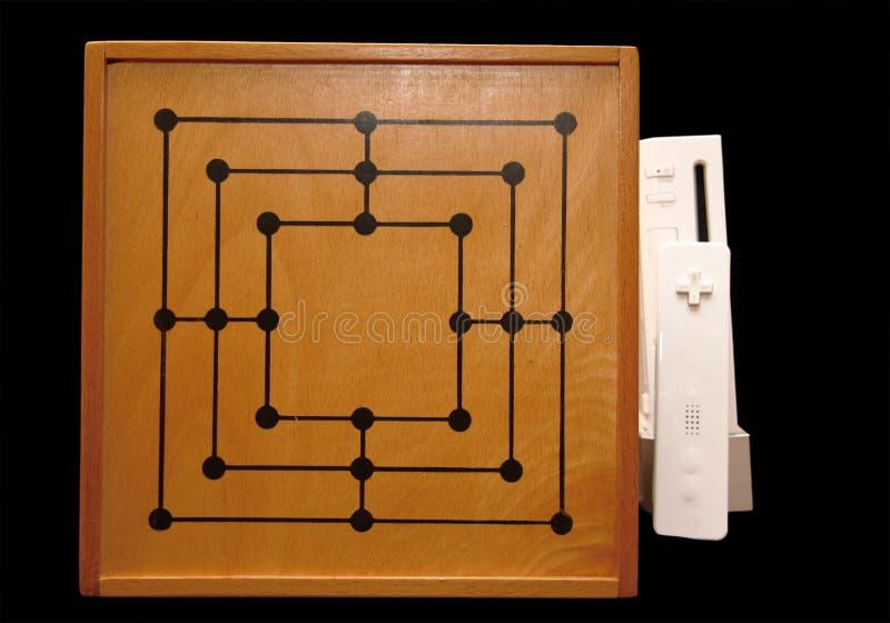 Juegos de mesa clásicos imagen de archivo