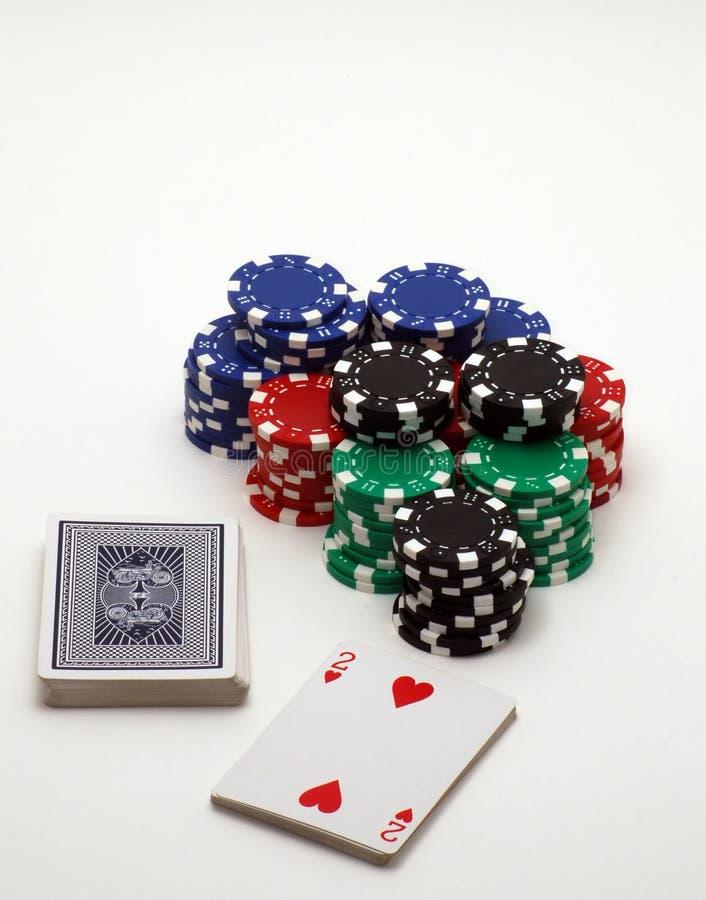 Juegos de tarjeta foto de archivo libre de regalías