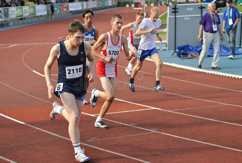 Juegos europeos del verano de los Juegos Paralímpicos fotografía de archivo
