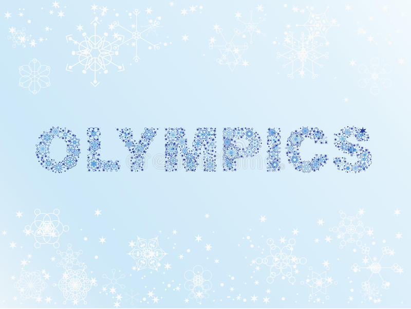 Juegos Olímpicos De Invierno De La Nieve Fotos de archivo libres de regalías