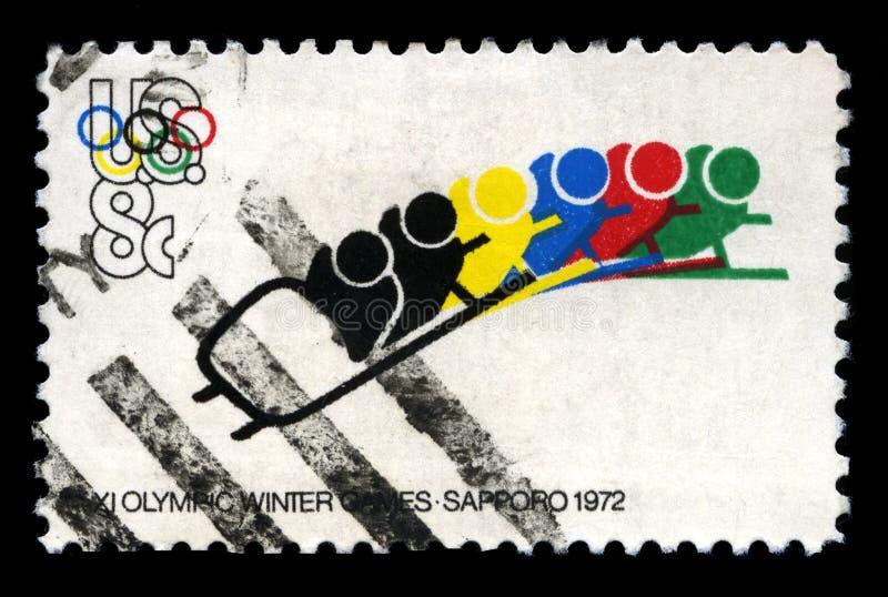 1972 juegos olímpicos del invierno foto de archivo