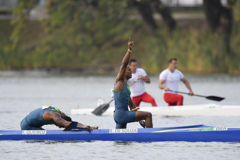 Juegos Olímpicos Río 2016 fotos de archivo libres de regalías