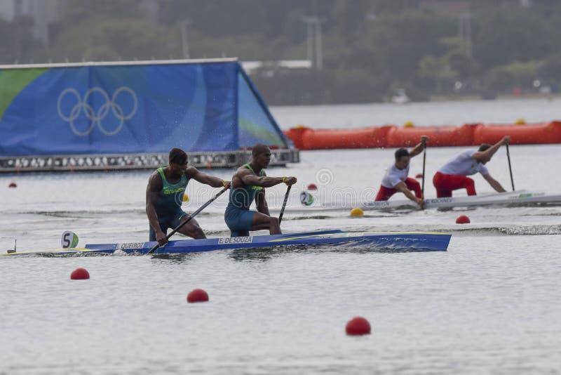 Juegos Olímpicos Río 2016 imagen de archivo libre de regalías