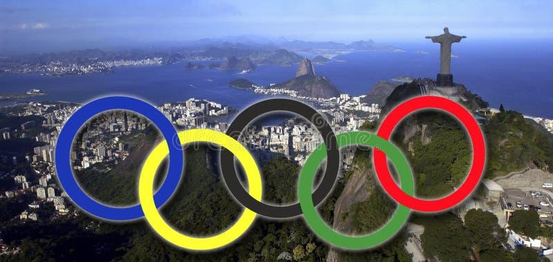 Juegos Olímpicos - Rio de Janeiro - el Brasil imagenes de archivo