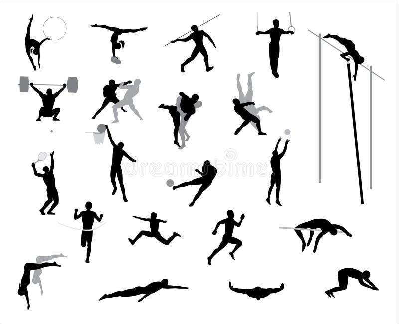 Juegos Olímpicos. Vector. stock de ilustración