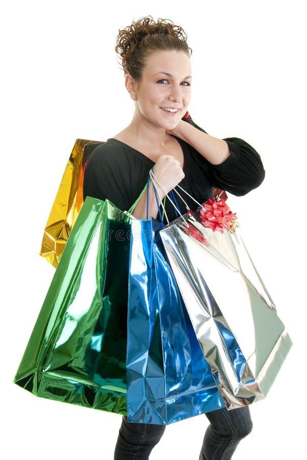 Juerga de compras fotografía de archivo libre de regalías