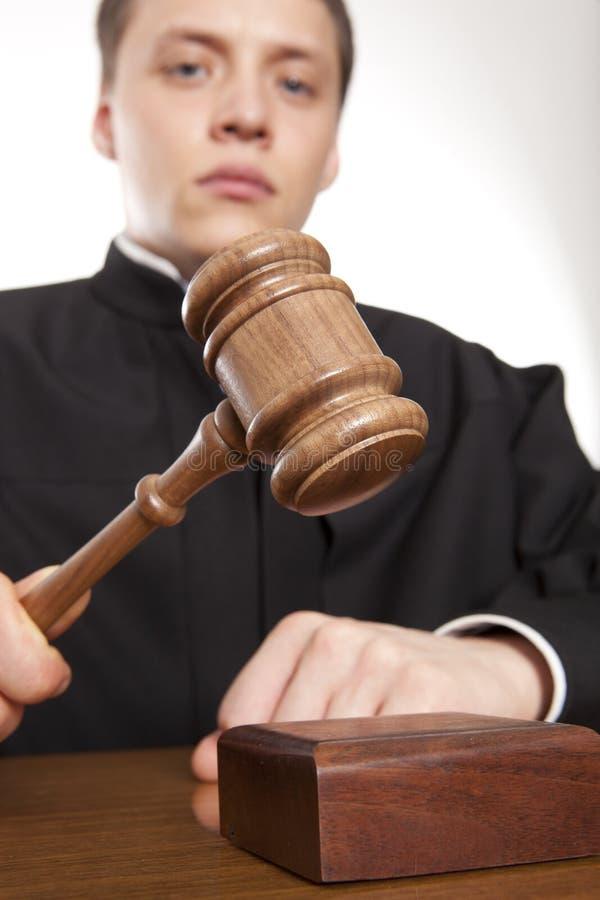 juez imagen de archivo libre de regalías