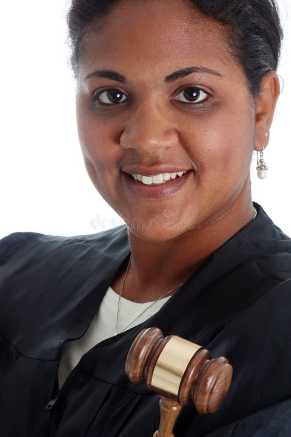 Juez de la mujer fotografía de archivo libre de regalías