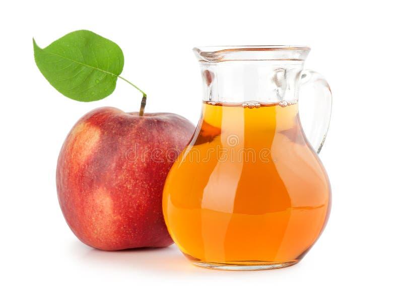 Jug of apple juice royalty free stock image