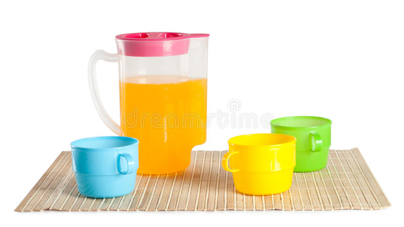 Download Jug with a drink stock image. Image of isolated, background - 26112407
