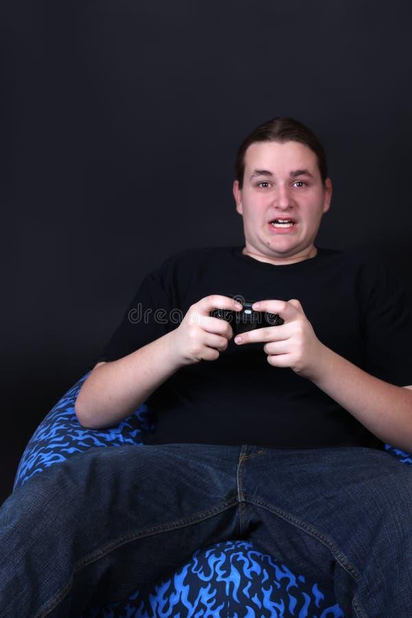 Jugador adolescente del juego video foto de archivo libre de regalías