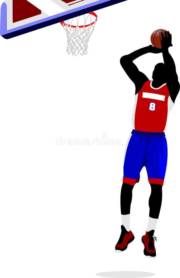 Jugador Andrea Bargnani Y Marco Belinelli De NBA Ilustración del ...