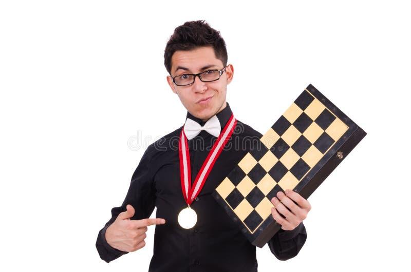 Download Jugador De Ajedrez Divertido Aislado Imagen de archivo - Imagen de competición, pedazo: 41916111