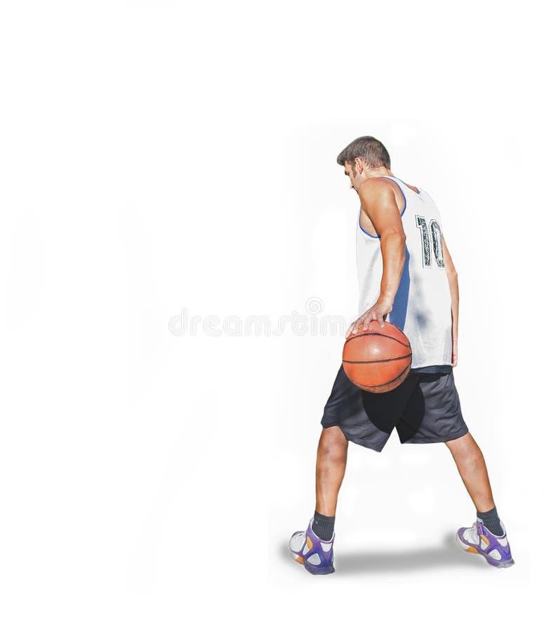Jugador de básquet imágenes de archivo libres de regalías