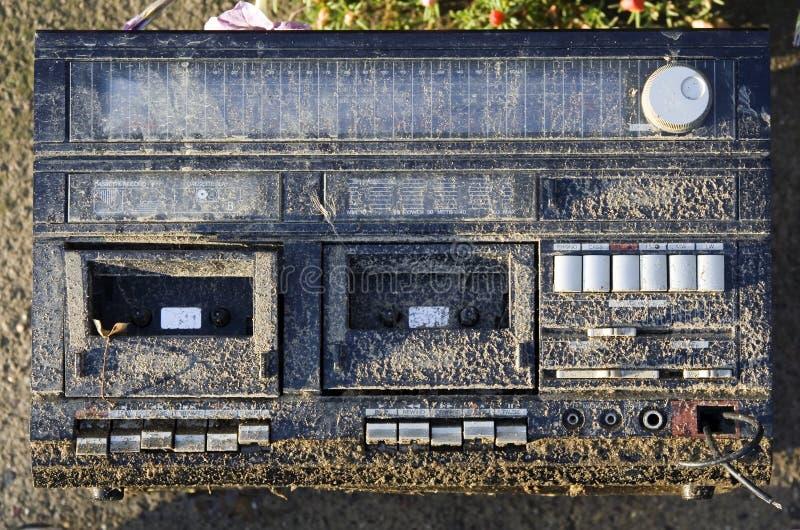 Jugador de Cassete foto de archivo libre de regalías