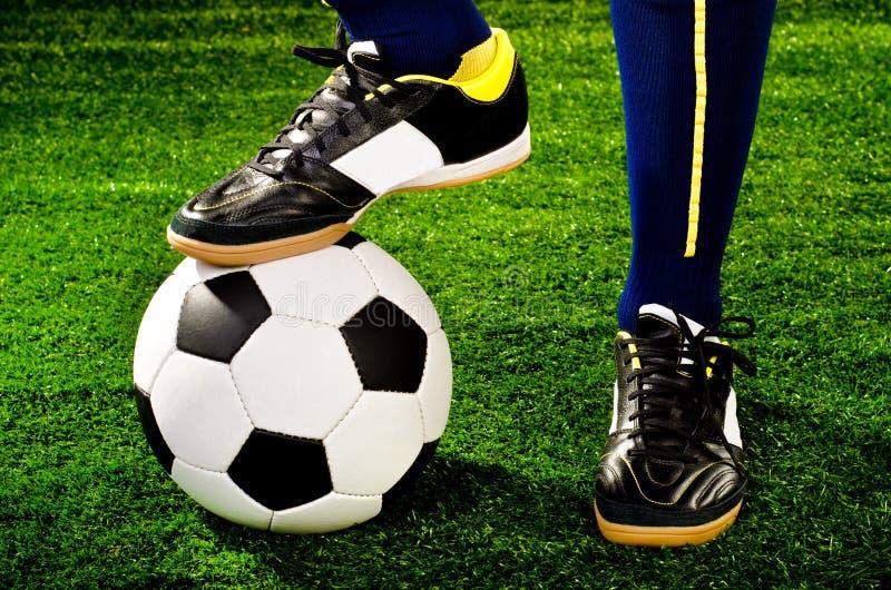 Jugador de fútbol fotografía de archivo libre de regalías