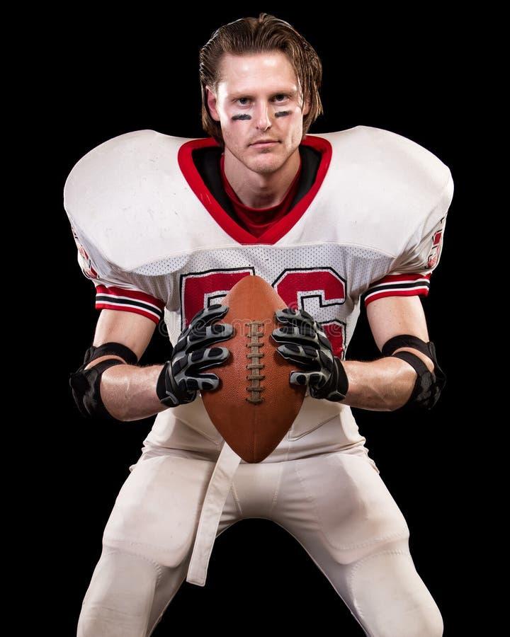 Jugador de fútbol americano fotos de archivo