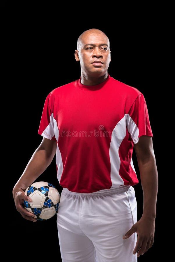 Jugador de fútbol profesional fotos de archivo libres de regalías