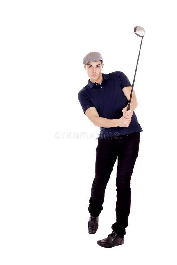 Jugador de golf foto de archivo libre de regalías