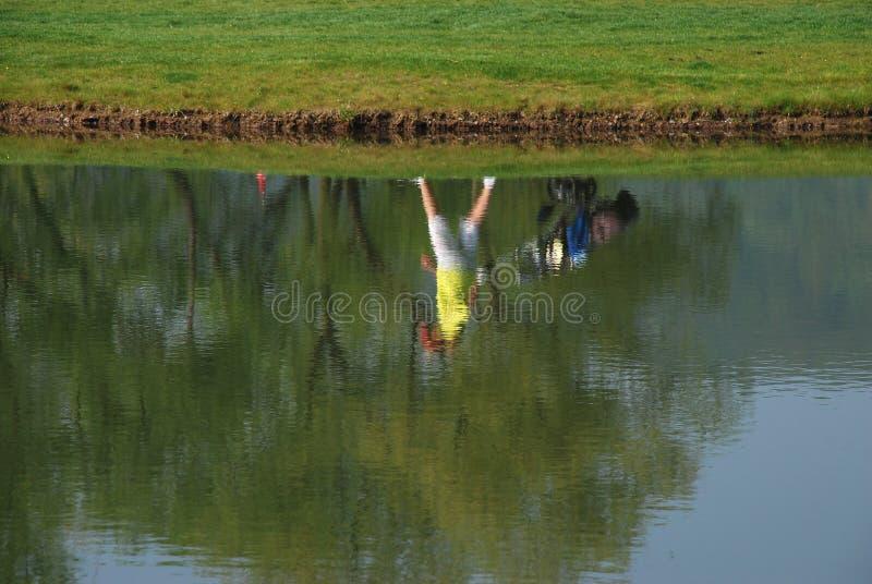Jugador de golf fotografía de archivo libre de regalías
