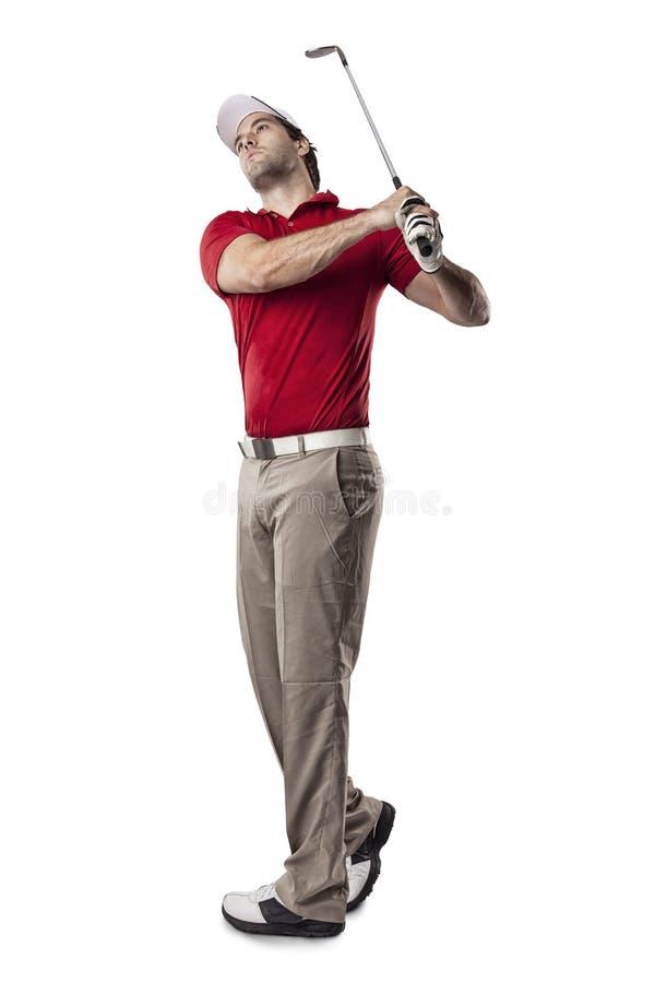 Jugador de golf imagen de archivo