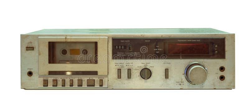 Jugador de la grabadora fotos de archivo libres de regalías