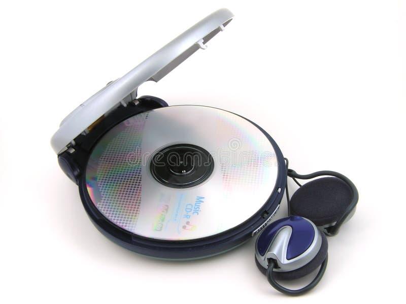 Jugador de música fotografía de archivo libre de regalías