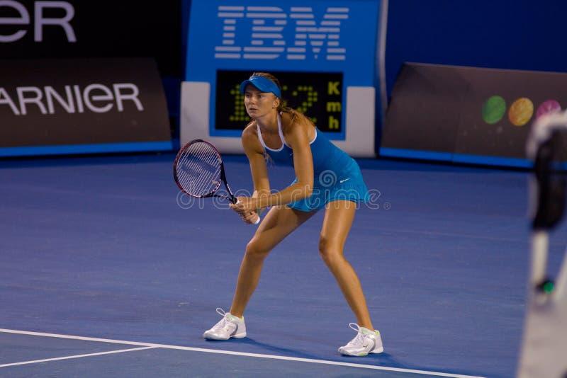 Jugador de tenis eslovaco Daniela Hantuchova foto de archivo libre de regalías