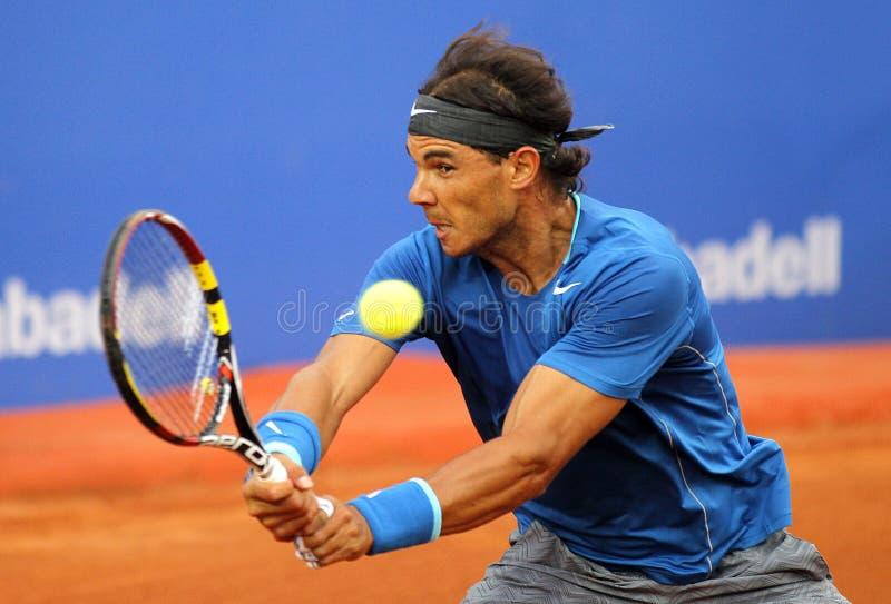 Jugador de tenis español Rafa Nadal foto de archivo libre de regalías