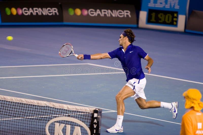 Jugador de tenis Roger Federer fotos de archivo