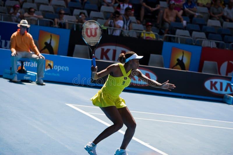 Jugador de tenis Venus Williams fotografía de archivo libre de regalías