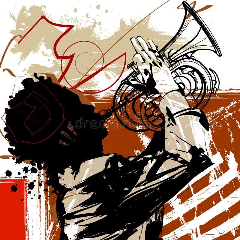 Jugador de trompeta libre illustration