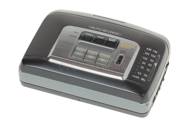 Jugador del audio del cassette fotos de archivo libres de regalías