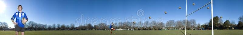 Jugador del rugbi foto de archivo