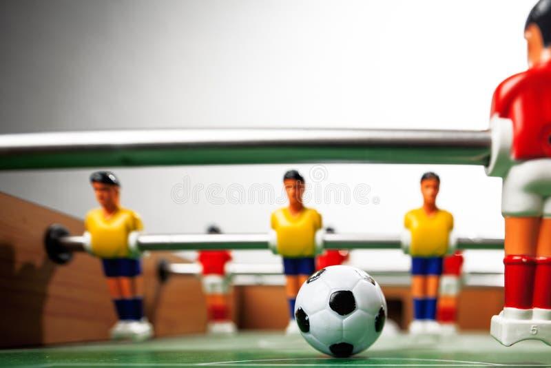 Jugadores de la tabla de Foosball foto de archivo libre de regalías