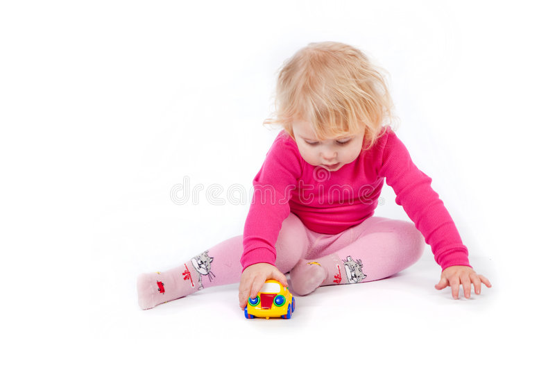 Jugar al niño imágenes de archivo libres de regalías