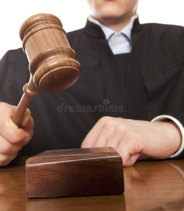 Juge photo libre de droits