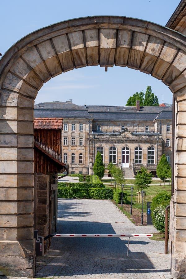 Juge Building 2 de Bayreuth de tribunal d'arrondissement photos libres de droits